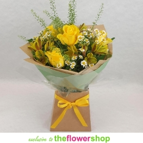 Love and Friendship Gift Box in Yellow